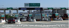 ETC(Electronic Toll Collection System:電子收費系統)